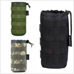 Gonex Kettle Pouch Bag Carrier Outdoor Tactical Military Water Bottle Holder