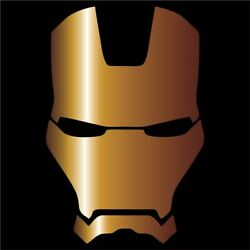 Iron Man Vinyl Decal  Sticker - Choose Color & Size - Avengers