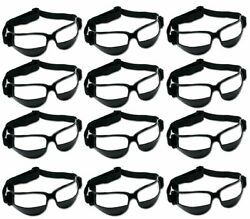 Murray Sporting Goods Basketball Dribble Goggles Training Aid Pack of 12