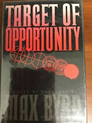 Target of Opportunity by Max Byrd 2012 Hardcover1st Signed $15.50