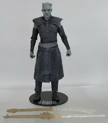 """McFarlane Collection Game Of Thrones Night King 6"""" Figure White Walker Complete $25.99"""