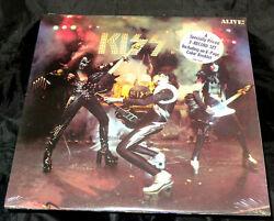 Kiss ‎Alive! Sealed Vinyl Record Lp USA 1975 Orig Casablanca NBLP 7020-798 Hype