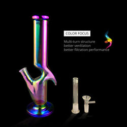12.5 Inch Rainbow Alien Style Glass Bongs Water Pipes