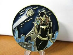 NYPD Catwoman She Needed a Hero  Challenge Coin #283C