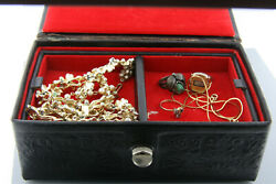 Vintage Costume Jewelry 12K GF ring silver ring gold necklace LISNER necklace!