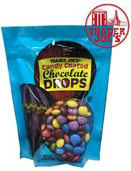 Trader Joe#x27;s Candy Coated Chocolate Drops 8 OZ Pack $11.90
