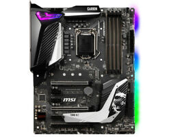 MSI Intel Z390 Gaming Pro Carbon ATX DDR4 SDRAM Motherboard $285.90