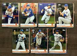 2019 Topps Chrome Baseball Base Team Sets ~ Pick your Team