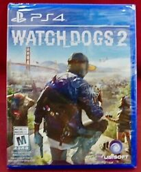 New Ubisoft Video Game Watch Dogs 2 PS4