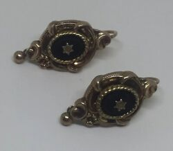 Antique Biedermeier Earrings $255.00