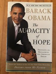 The Audacity of Hope: Thoughts on Reclaiming the American Dream *VERY GOOD*