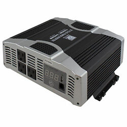 DC To AC Power Inverter 2400W Peak Power 1200W Continuous 69BINV1200 $109.99