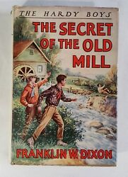 The Hardy Boys Book The Secret of the Old Mill Dixon Hardback 1927 Dust Cover