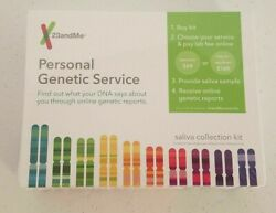 23andMe Personal Genetic Service Saliva Collection Kit Only  FREE SHIPPING
