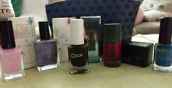 Lot of New Nail Polishes with Travel Beauty bag : Trust Fund Color Club Kiki