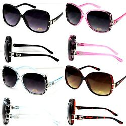 New WB Womens Designer Fashion Butterfly Square Sunglasses Retro Shades Vintage