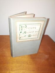 Prayers Ancient and Modern Doubleday & McClure Co 1900 Antique Religious Book