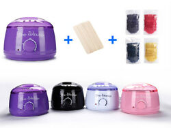 Wax Warmer Heater Pot Body Hair Removal Machine 14oz3lbs Waxing Beans 10 Sticks