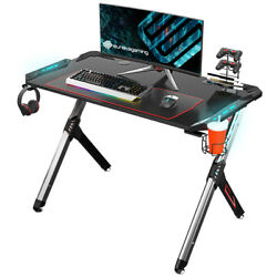R1-S Gaming Table With LED Lights Controller Stand Cup Holder  $229.99