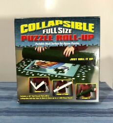 Portable Collapsible Full Size Puzzle Roll Up Mat TDC Games Unused
