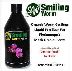 Worm Castings Fertilizer gt; Phalaenopsis Moth Orchid Cymbidium Vanda Orchid Food $18.20