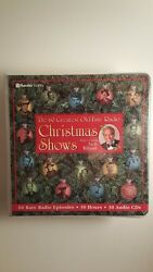 The 60 Greatest Old Time Radio Christmas Shows  Andy Williams -Audio CDs - New