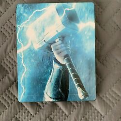 Thor Trilogy Blu-Ray Italy Steelbook New Sealed Region Free Marvel MCU Ragnarok