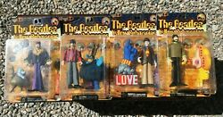 McFarlane The Beatles Lot of 4 Yellow Submarine Figures UNOPENED