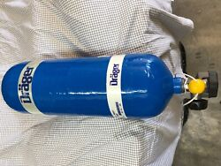 DRAGER 2009 - 60 MINUTE CARBON COMPOSITE SCBA CYLINDER - 4500 PSI- DOT TYPE