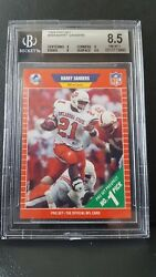 1989 Pro Set #494 Barry Sanders RC BGS 8.5 Rookie Card