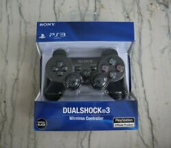 Sony Ps3 Playstation 3 Wireless Bluetooth Dualshock 3 Controller !BLACK!