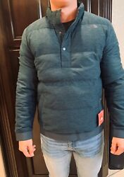 $149 The North Face Men's 550 Goose Down Pullover Jacket Blue NEW Choose Size