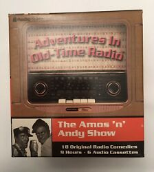 The Amos 'n' Andy Show Adventures in Old Time Radio 6 Cassette Box Set