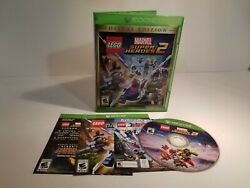 LEGO Marvel Super Heroes 2 Deluxe Edition (Microsoft Xbox One 2017) Tested