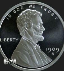 1 OZ 999 PURE SILVER LINCOLN CENT SILVER ROUND COIN CAPSULE BULLION PENNY $39.95