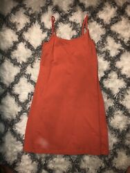 Patagonia Coral Orange Dress Women's Size M