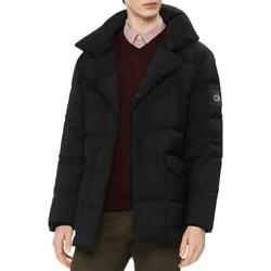 Calvin Klein Mens Winter Down Mid-Length Puffer Coat Outerwear BHFO 2290