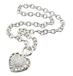 BRIGHTON BEACH FILIGREE HEART TOGGLE NECKLACE