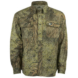 Cotton Mill Hunting Shirt for Men Camouflage Clothes Mossy Oak Camo $19.99