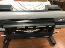 Canon imagePROGRAF iPF8000S 48 Large Wide Format Printer Plotter LITTLE USEAGE! $1,999.99
