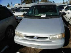 Chassis ECM Air Bag Under Lower Console Fits 96-98 WINDSTAR 14073130