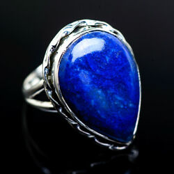 Large Lapis Lazuli 925 Sterling Silver Ring 8.5 Ana Co Jewelry R973231F