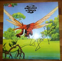OSIBISA A Vinyl Disc Cover-HAND Signed By Wendall With a COA & Album Too