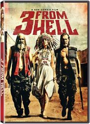 Three From Hell DVD Brand New Fast Shipping