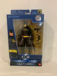 DC Comics Originals Multiverse Batman 80 Years Mattel  Free Shipping