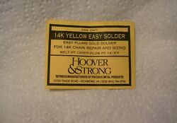 Hoover & Strong 1 dwt 14K Gold Yellow Easy Repair Solder Finding