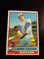 1976 TOPPS GARY CARTER CARD #441 EXPOS *rpjh99* NM