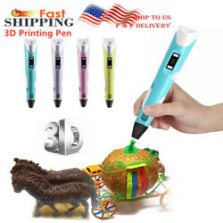 3D Doodler Drawing Printing Pen Printing Pen Present Toys For Kids Four Color US