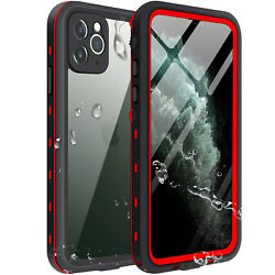For Apple iPhone 11 Pro Max Waterproof Case Cover wBuilt-in Screen Protector 11 $15.48