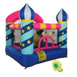 Inflatable Bounce House Kids Large Jumping Room Magic Castle Blower Carry Bag $168.99